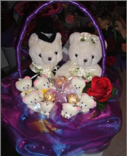 小熊花束-飞阳鲜花庆典-桦甸市飞阳鲜花庆典产品分类