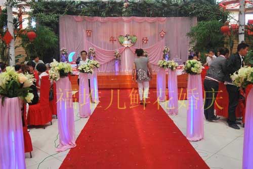 农村婚礼现场布置 农村婚礼布置效果图 个性婚礼现场布置